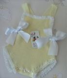pichi bebe  amarillo