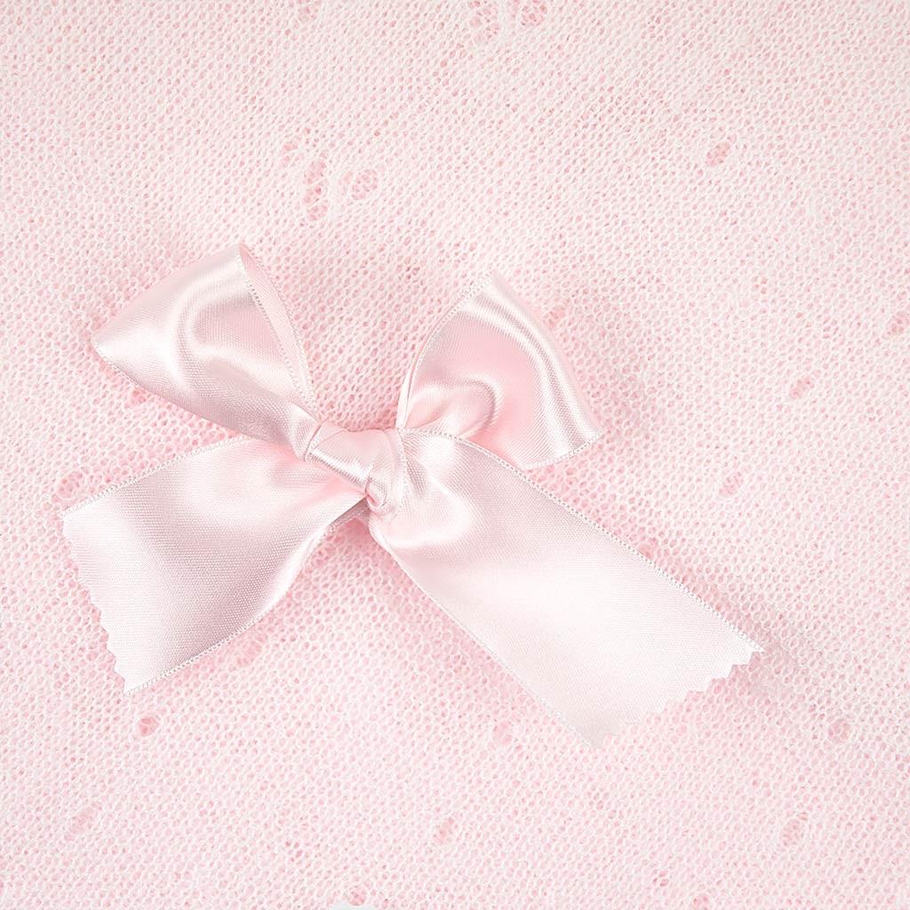 Toquilla finita bebe rosa