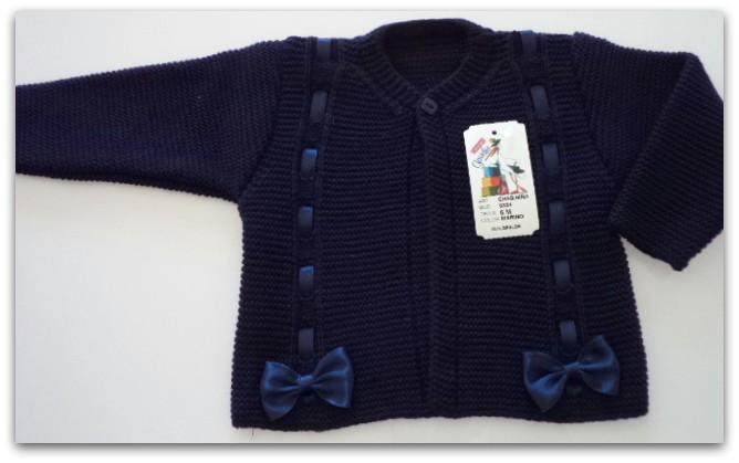 chaqueta niña azul marino