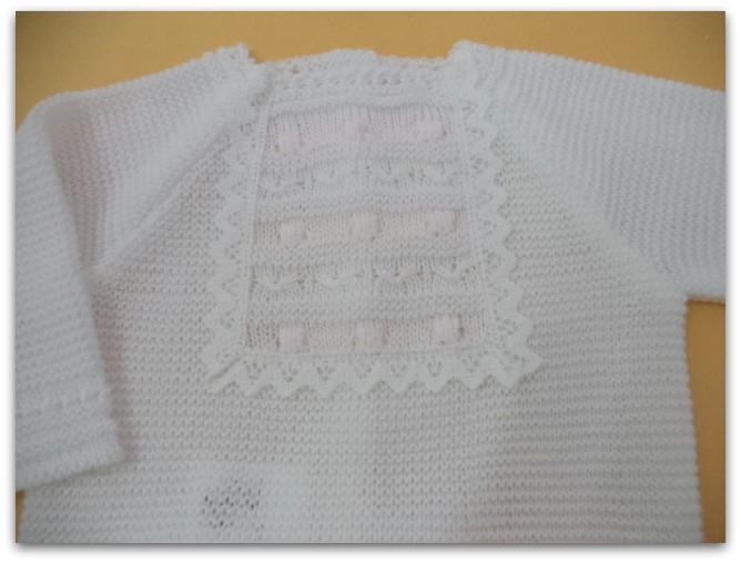 conjunto primavera verano blanco/rosa