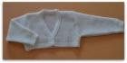 chaqueta color blanco
