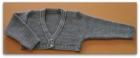 chaqueta color gris
