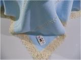 toquilla azul/beig niño