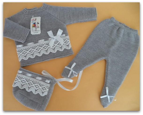 Conjunto gris invierno