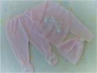 conjunto bebe invierno rosa